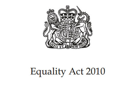 Equality Act 2010 Coat of Arms