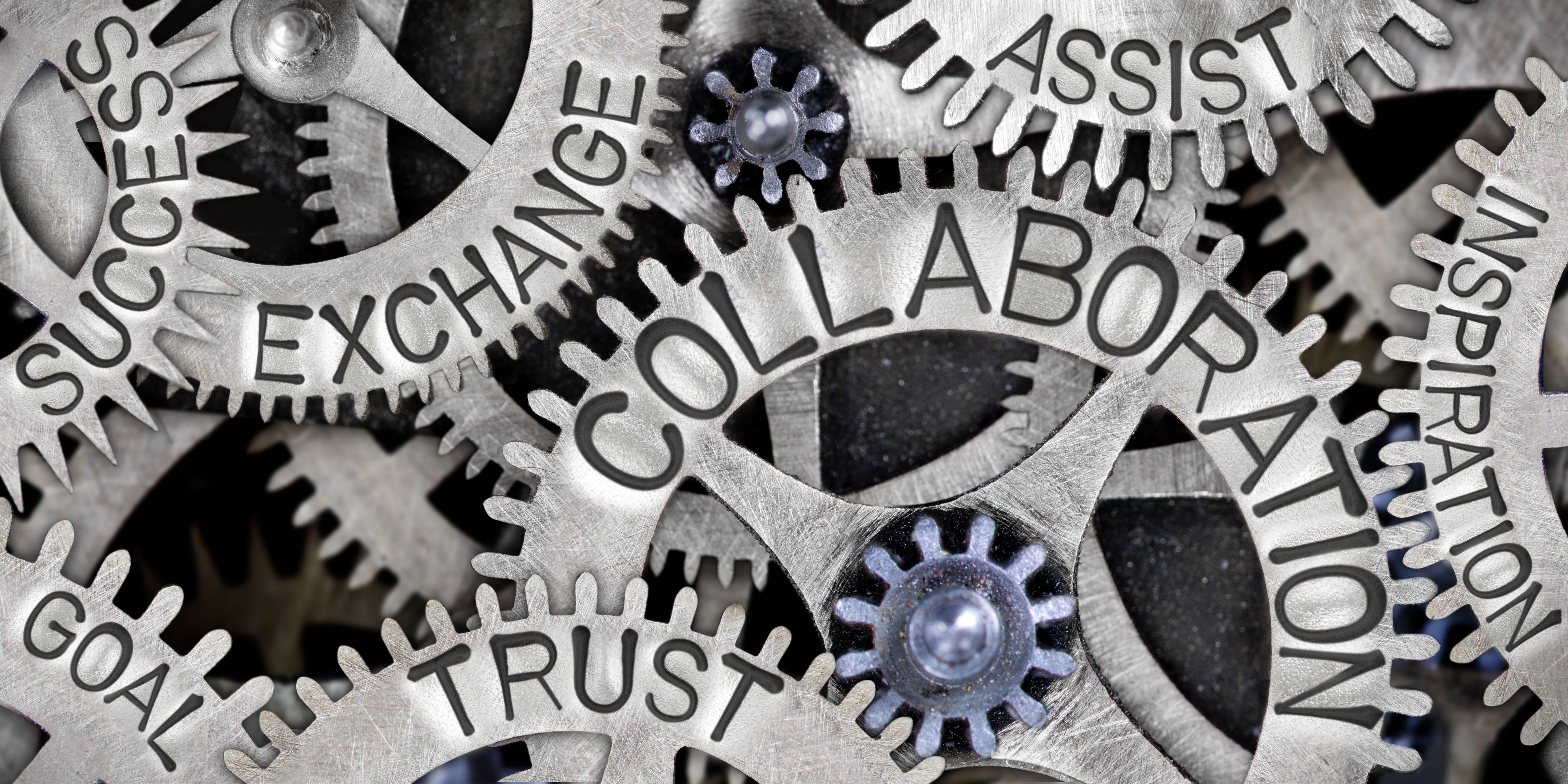 Collaboration, trust, exchange, success