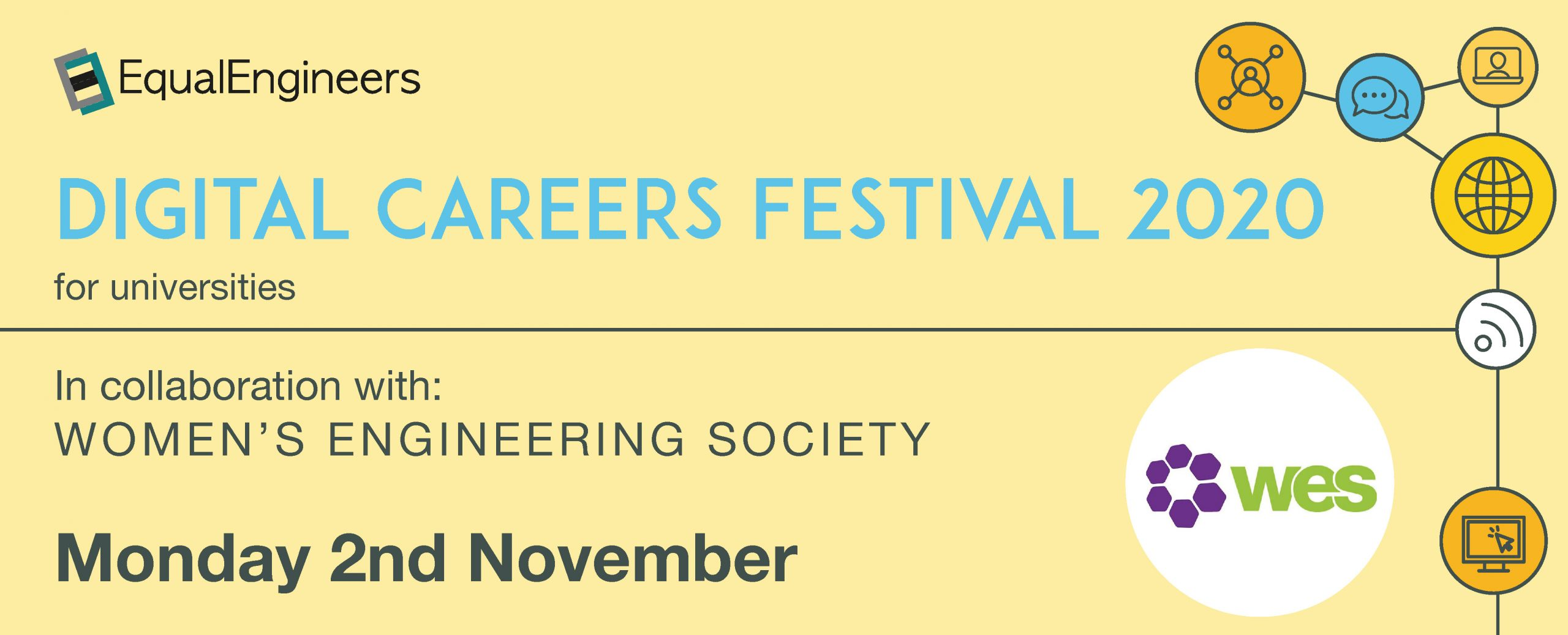 Digital Careers Festival for Universities - 2nd November