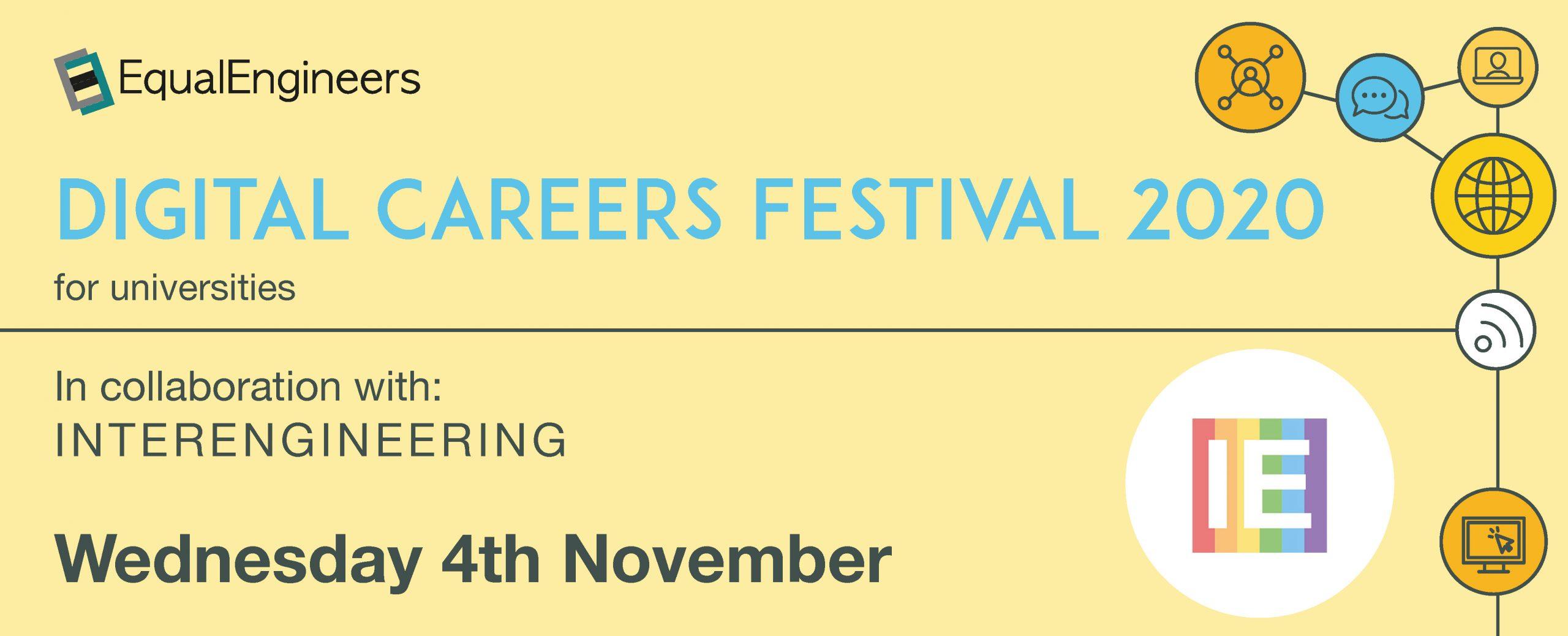 Digital Careers Festival for Universities - 4th November