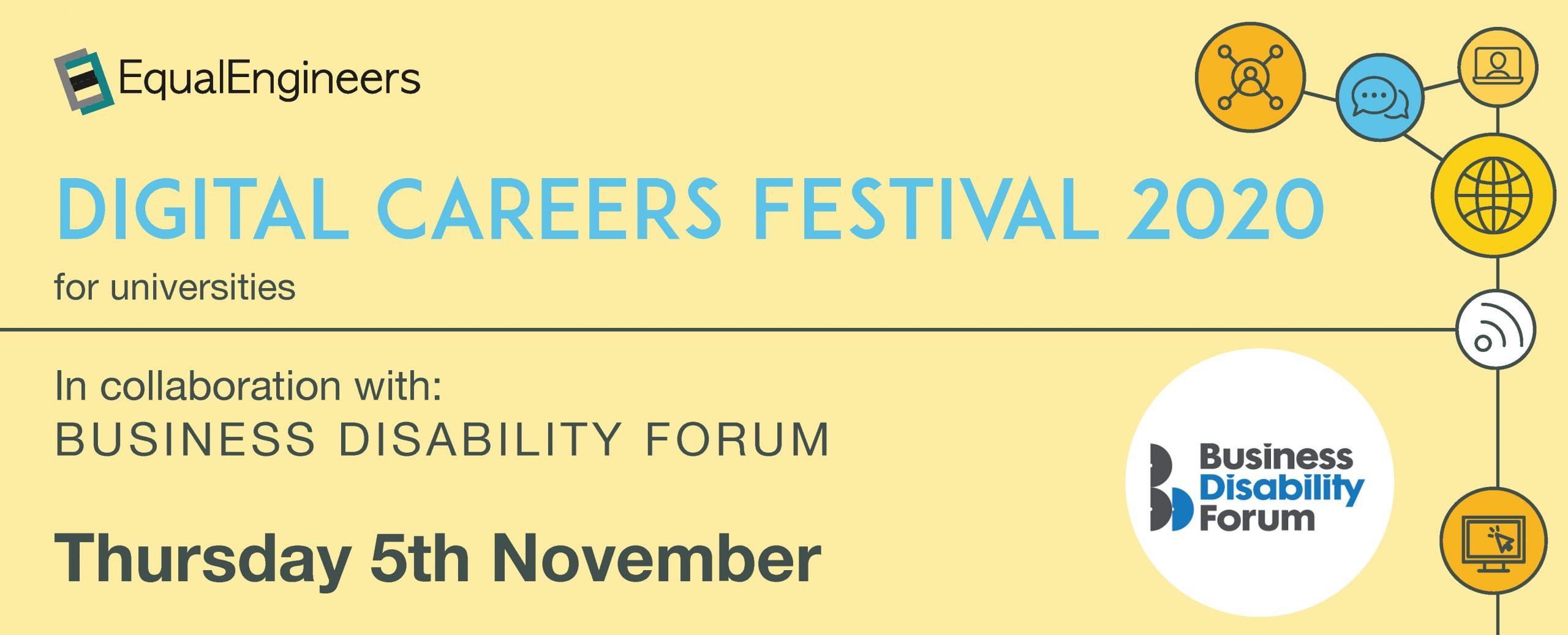 Digital Careers Festival for Universities - 5th November