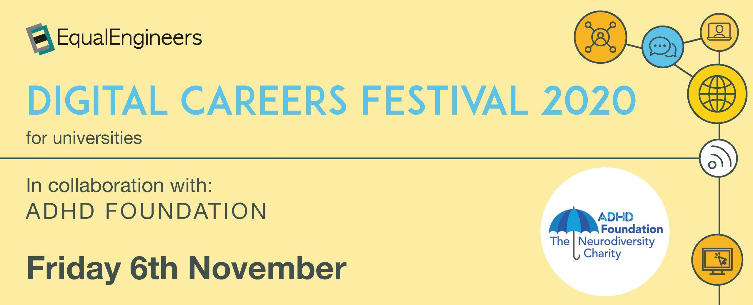 Digital Careers Festival for Universities - 6th November